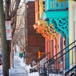 Colorful street of Montreal — Stock Photo #43184403