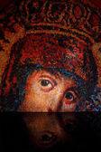 圣母玛利亚马赛克 — 图库照片