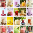 Beverages collage — Stock Photo #44105545