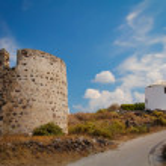 Windmill at Milos island — Stock Photo #44105715