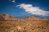 Red rock canyon — Stock Photo