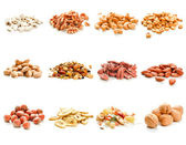 Nuts and dried fruits — Stock Photo