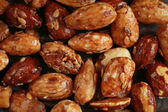 Honey roasted almonds — Stock Photo
