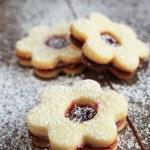 Flowers cookies — Stock Photo #49661815