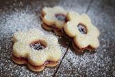 Flowers cookies — Stock Photo