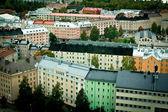 Helsinki houses — Stock Photo