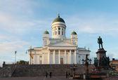 Helsinki cathedral — Stock Photo