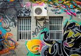 Graffiti in Montreal — Stock Photo