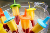 Fruity popsycle — Stock Photo