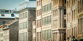 Old Montreal buildings — Stock Photo