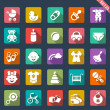 Baby icon set — Stock Vector #35414549