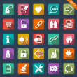 Flat icon set — Stock Vector #35414849