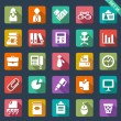 Office icons — Stock Vector