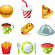 Food icons — Stock Vector #35415077