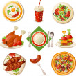 Food set — Stock Vector #35415265
