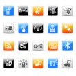Phone icons — Vector de stock #35415537
