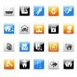 Real estate icons — Stock Vector #35415597