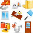 Home repair icons — Stock Vector #35415617