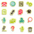 Web icons — Stock Vector #35415759