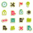 Web icons — Vettoriale Stock #35415761