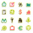 Web icons — Stock Vector