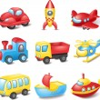 Vector de stock : Cartoon transport