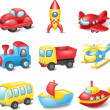 Cartoon transport — Wektor stockowy #35416245