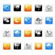 Weather icons — Stock Vector #35416321