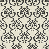 Seamless damask pattern — Stock vektor