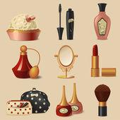 Cosmetic set — Stock Vector