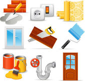 Home repair icons — Stock Vector