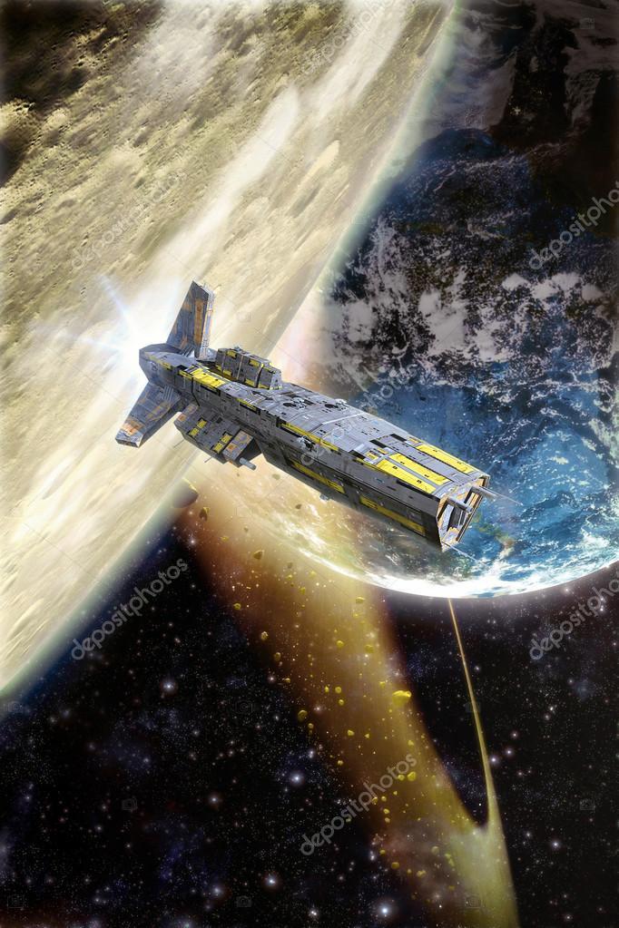 ловить планеты корабли