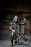 Space Soldier Assault Trooper — Stock Photo