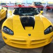 Постер, плакат: Car Dodge Viper SRT 10 VCA 2004