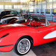 Постер, плакат: Car Chevrolet Corvette 1C first generation 1958