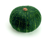 Pumpkin (Latin Cucurbita) - genus of herbaceous plants of the family Pumpkin (Cucurbitaceae). — Stock Photo