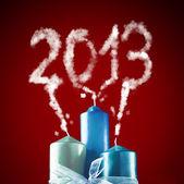 2013 - szczęśliwego nowego roku 2013 — Zdjęcie stockowe