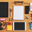 The contents of a business workspace organized and composed. — Stock Photo #31147723