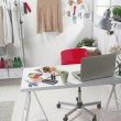 Stock Photo: Fashion creative space.