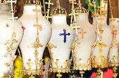 Chiesa lampade. — Foto Stock