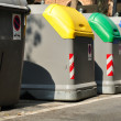 Refuse bins. — Stock Photo
