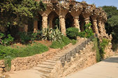 Park Guell. Barcelona. — Stock Photo