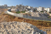 Separation wall. Israel. — Stock Photo