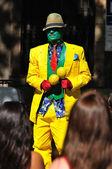 Street actor. — Stock Photo
