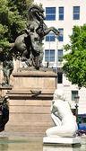 Barcelona fragment. — Stock Photo