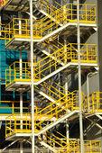 Metal staircase. — Stock Photo