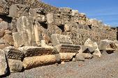 Ruínas de Cafarnaum. — Fotografia Stock