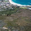 View of Camps Bay from Lions Head Mountain — Stock Photo
