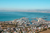 View of Cape Town Harbor — Stock Photo