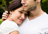 Young couple in love together — Stock Photo